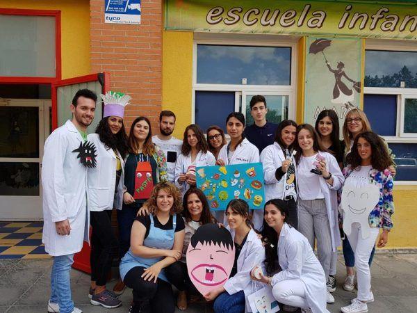 Día de la profesión de Higienista Dental en la escuela infantil Mary Poppins
