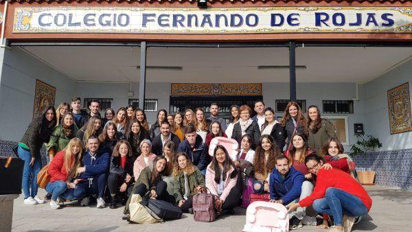 Visita Colegio Fernando de Rojas