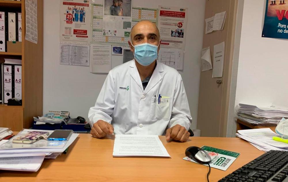 Jorge Curiel, responsable regional de Salud Laboral